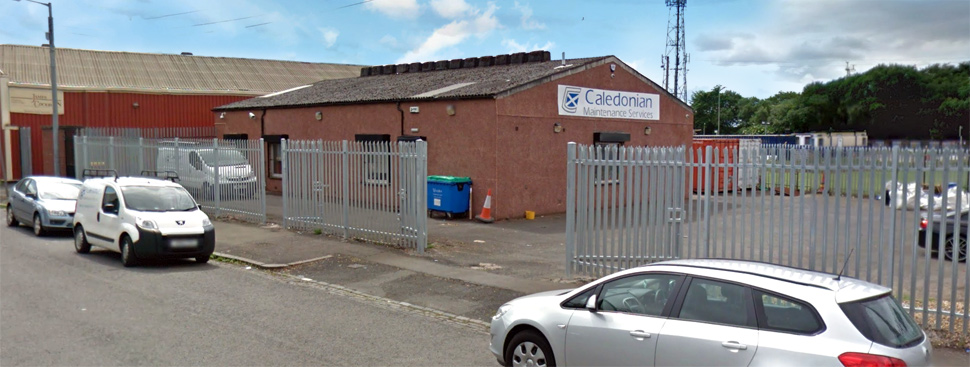 Caledonian Maintenance's new premises